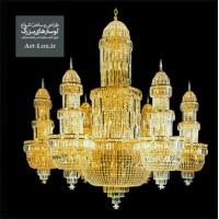 لوستر بزرگ مسجدی طرح خیمه