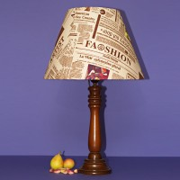 آباژور چوبی روزنامه ای