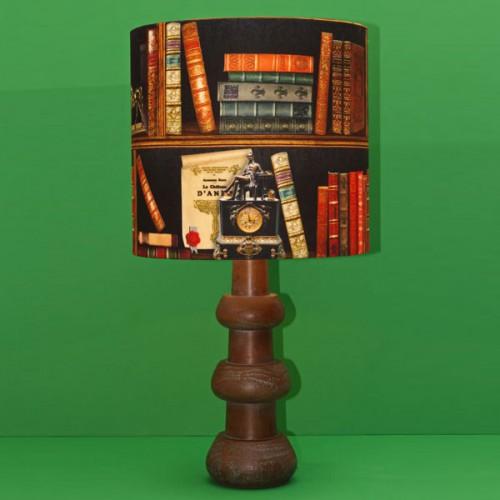 آباژور چوبی کتابخانه ای