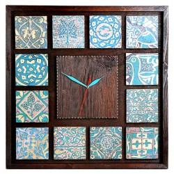 ساعت دیواری چوبی سرامیک 3801