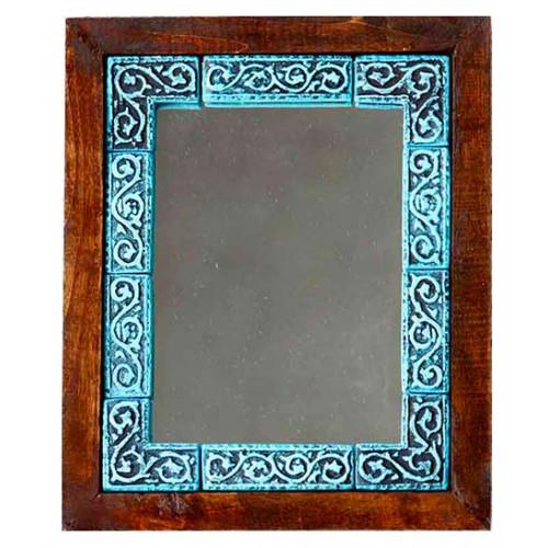 آینه دیواری دور خشتی 3814