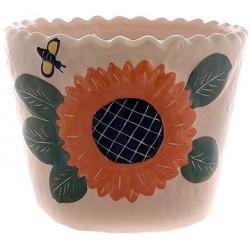 گلدان آفتابگردان سرامیکی 8776