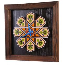 ساعت دیواری چوبی سنتی 3906