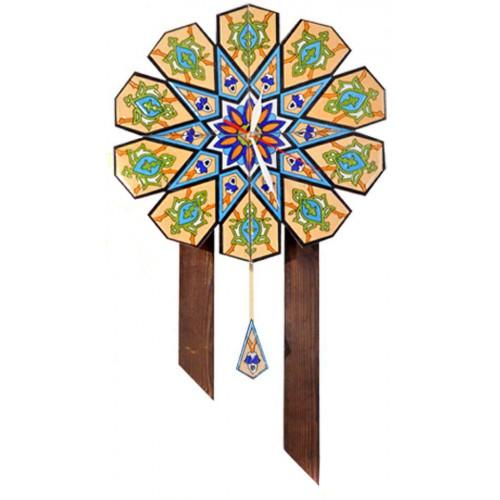 ساعت دیواری چوبی سنتی 3907