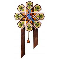 ساعت دیواری چوبی سنتی 3908