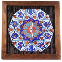 ساعت دیواری چوبی سنتی 3910