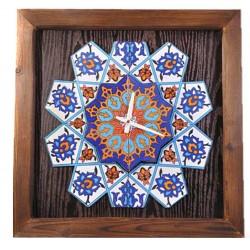 ساعت دیواری چوبی سنتی 3911