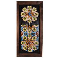 ساعت دیواری چوبی سنتی بلند 3913