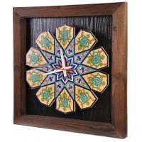 ساعت دیواری چوبی سنتی 3915