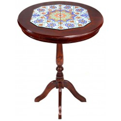 میز کنار سالنی چوبی 3916