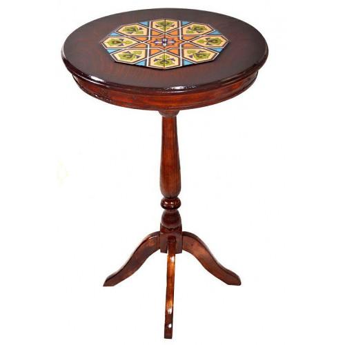 میز کنار سالنی چوبی 3917