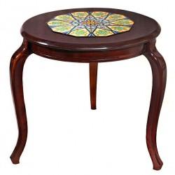 میز آباژور چوبی 3918
