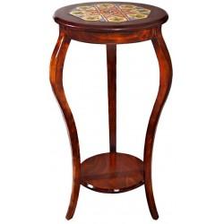 میز عسلی چوبی بلند 3919