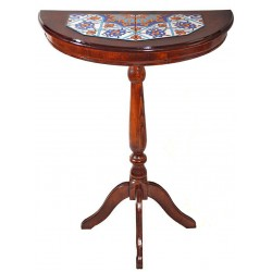 میز آینه کنسول چوبی 3920