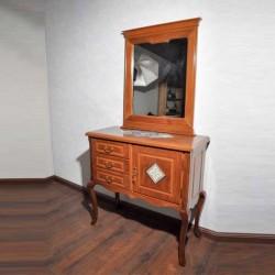آینه و کنسول چوبی منبت