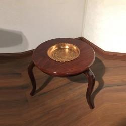 میز کنار مبلی مسی دار