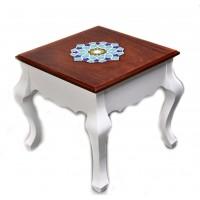 میز عسلی چوبی سفید