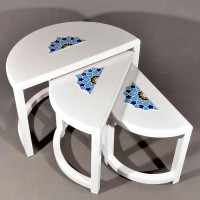 میز عسلی سفید