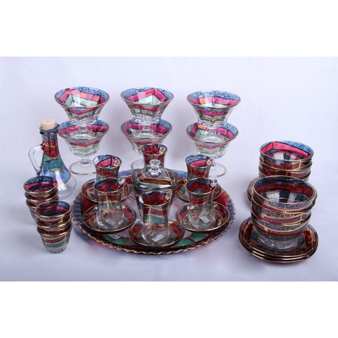 قیمت ظروف طلا کوب