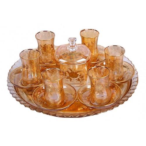 سرویس چای خوری طلایی