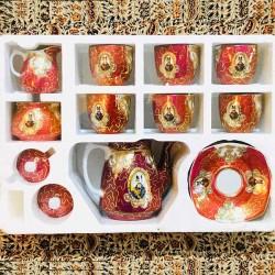 سرویس چای خوری چینی شاه عباسی
