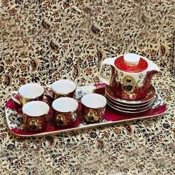 سرویس قهوه خوری چینی شاه عباسی