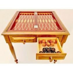 میز بازی شطرنج و تخته نرد 2 نفره