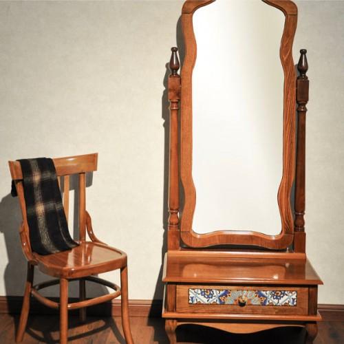 آینه کنسول کلاسیک چوبی