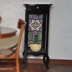 ویترین چوبی سنتی کشویی