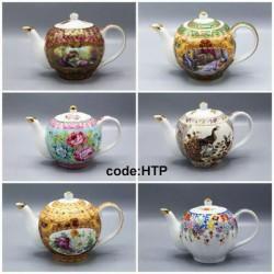 قوری چای چینی طرح دار