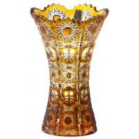 گلدان کریستال بوهمیا طلایی