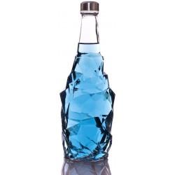 بطری شیشه ای بزرگ رنگی