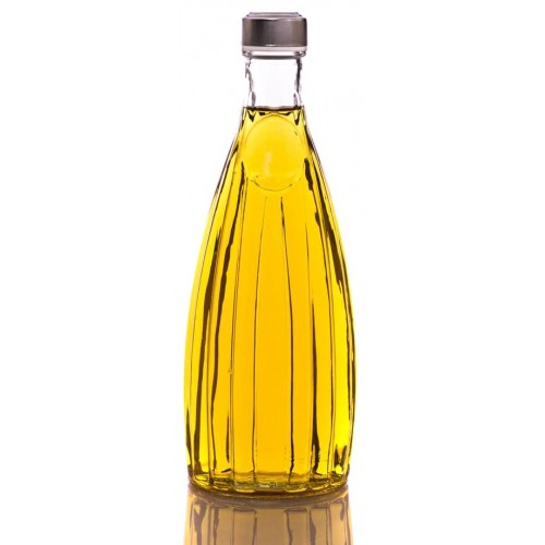 بطری شیشه ای خشتی 038