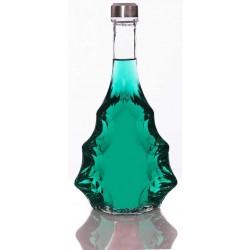 بطری آب شیشه ای درب استیل