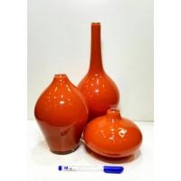 گلدان سالونگ نارنجی 3 پوست