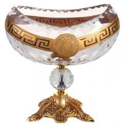 کشکول کریستال ورساچه طلایی 688