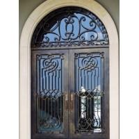 درب آهنی ورودی خانه الگانس
