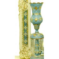 آینه و کنسول سلطنتی فیروزه ای