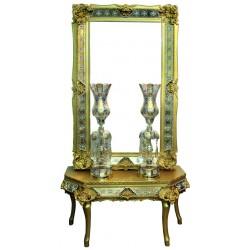 آینه و کنسول سلطنتی طلایی