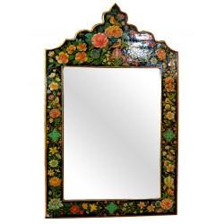 قاب آینه گل و مرغ