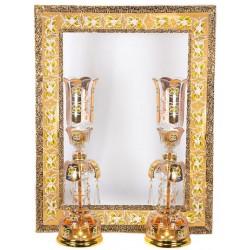 آینه و شمعدان طرح چک