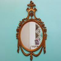 آینه چوبی منبت کاری