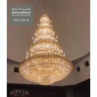 لوستر مخصوص گنبد بزرگ مسجد