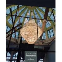 لوستر بزرگ کریستالی طبقاتی مسجدی