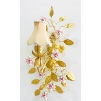 لوستر دیوارکوب با طرح گل