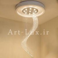 لوستر مارپیچ LED