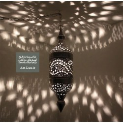 لوستر برای دکوراسیون خانه مراکشی