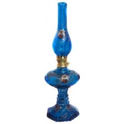 چراغ نفتی شاه عباسی آبی