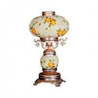 چراغ رومیزی کلاسیک زرد