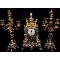 ساعت و شمعدان امپراطور